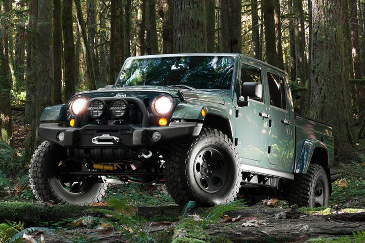 Limited Edition Filson Jeep Dresses Up The Brute