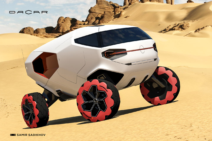 Radical Dacar Concept Could Change Off Road Racing
