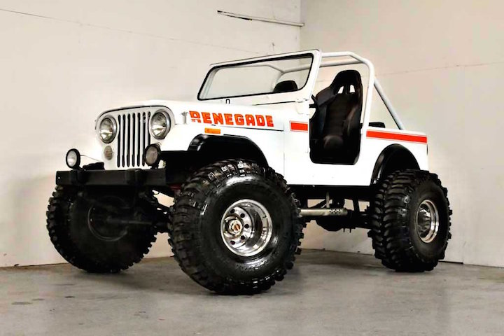 this 1980 jeep cj7 renegade restomod is the business. Black Bedroom Furniture Sets. Home Design Ideas