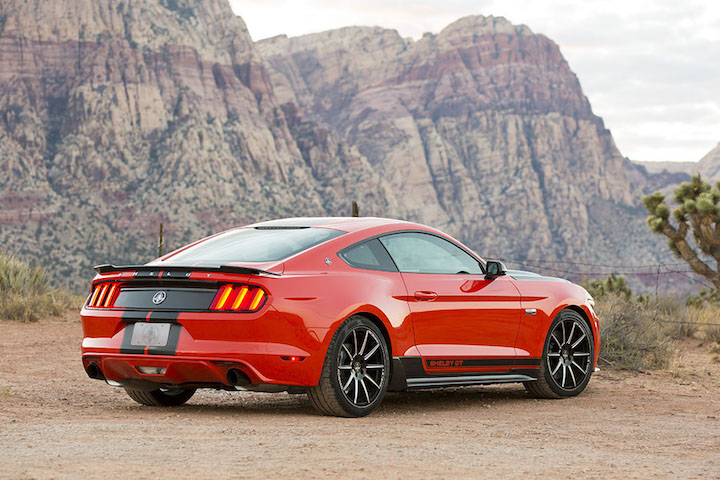 shelby created a mean gt performance pack for the ecoboost mustang. Black Bedroom Furniture Sets. Home Design Ideas