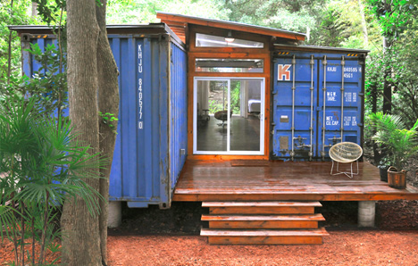 container porch