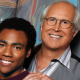Donald Glover and Chevy Chase in Community