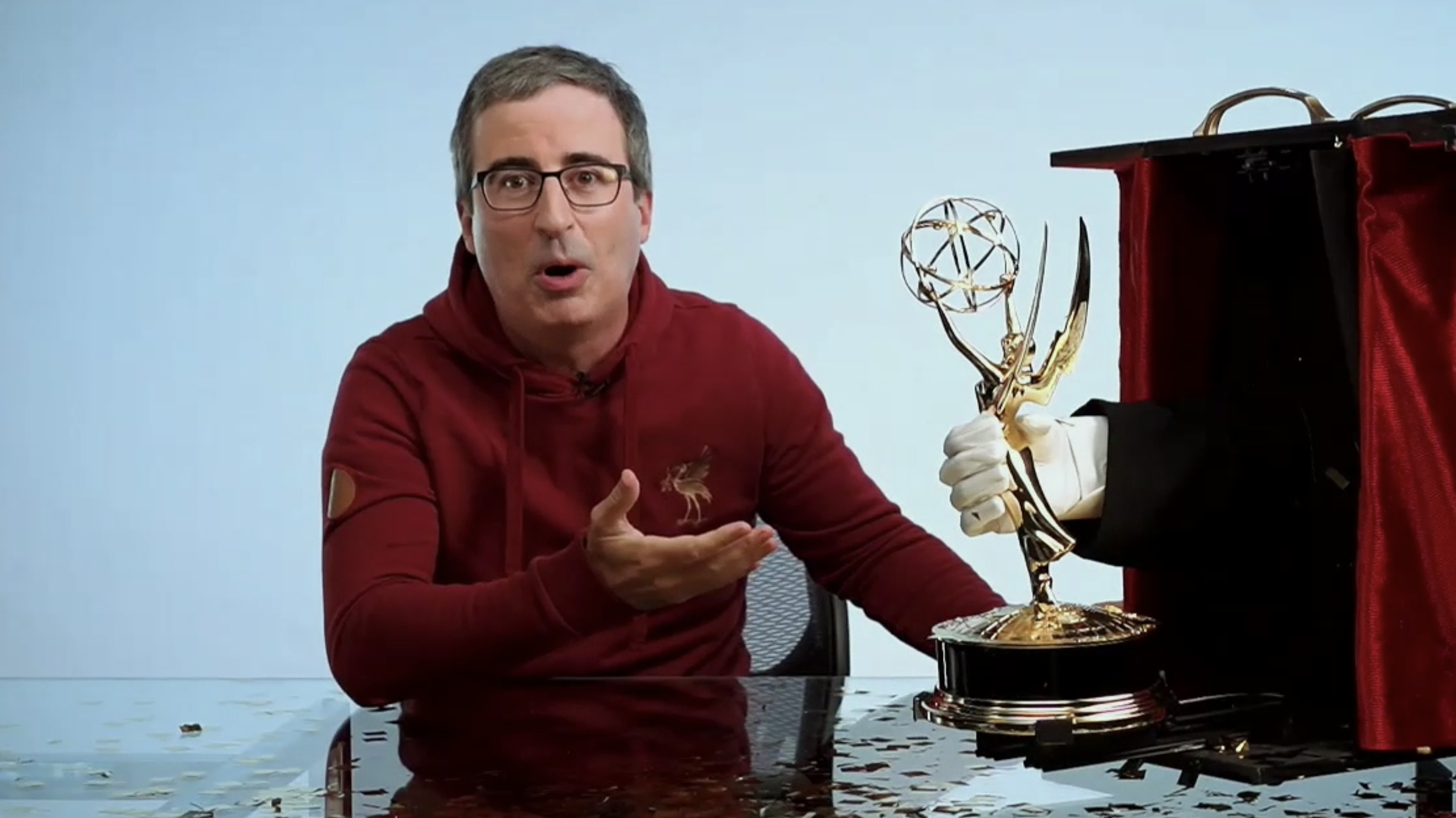 "John Oliver's 'Last Week Tonight' Scoops Fifth Consecutive Emmy Win, Says Late-Night Shows ""Very Fortunate"" To Be Able To Air During Pandemic"