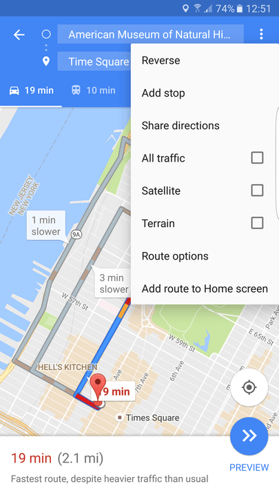 how to make a google map with multiple locations