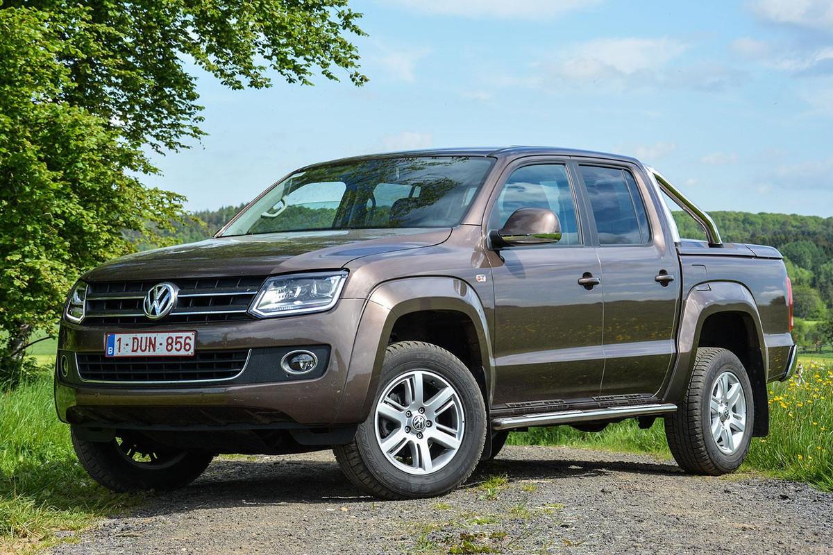 The Rugged Amarok Pickup Could Help Volkswagen Break Into