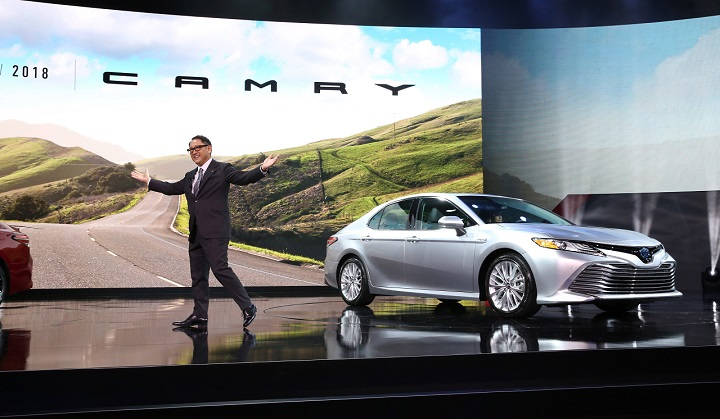 2018 Toyota Camry Reveal At The 2017 North American International Auto Show