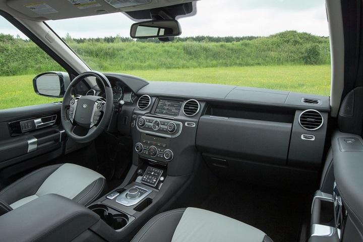 2016 Land Rover Lr4 Interior Photo