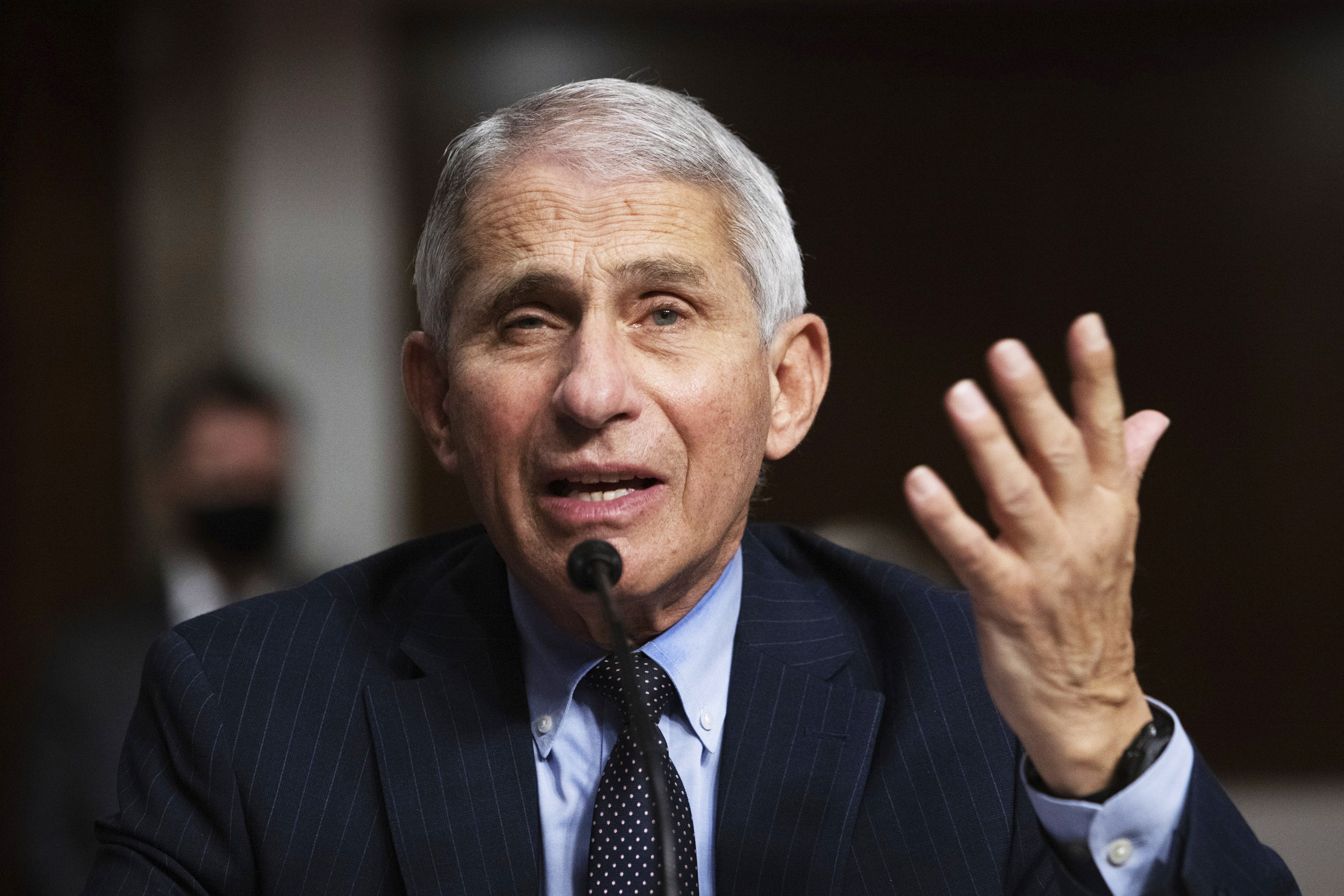 Fauci says as coronavirus infections swell, federal task force is meeting just weekly