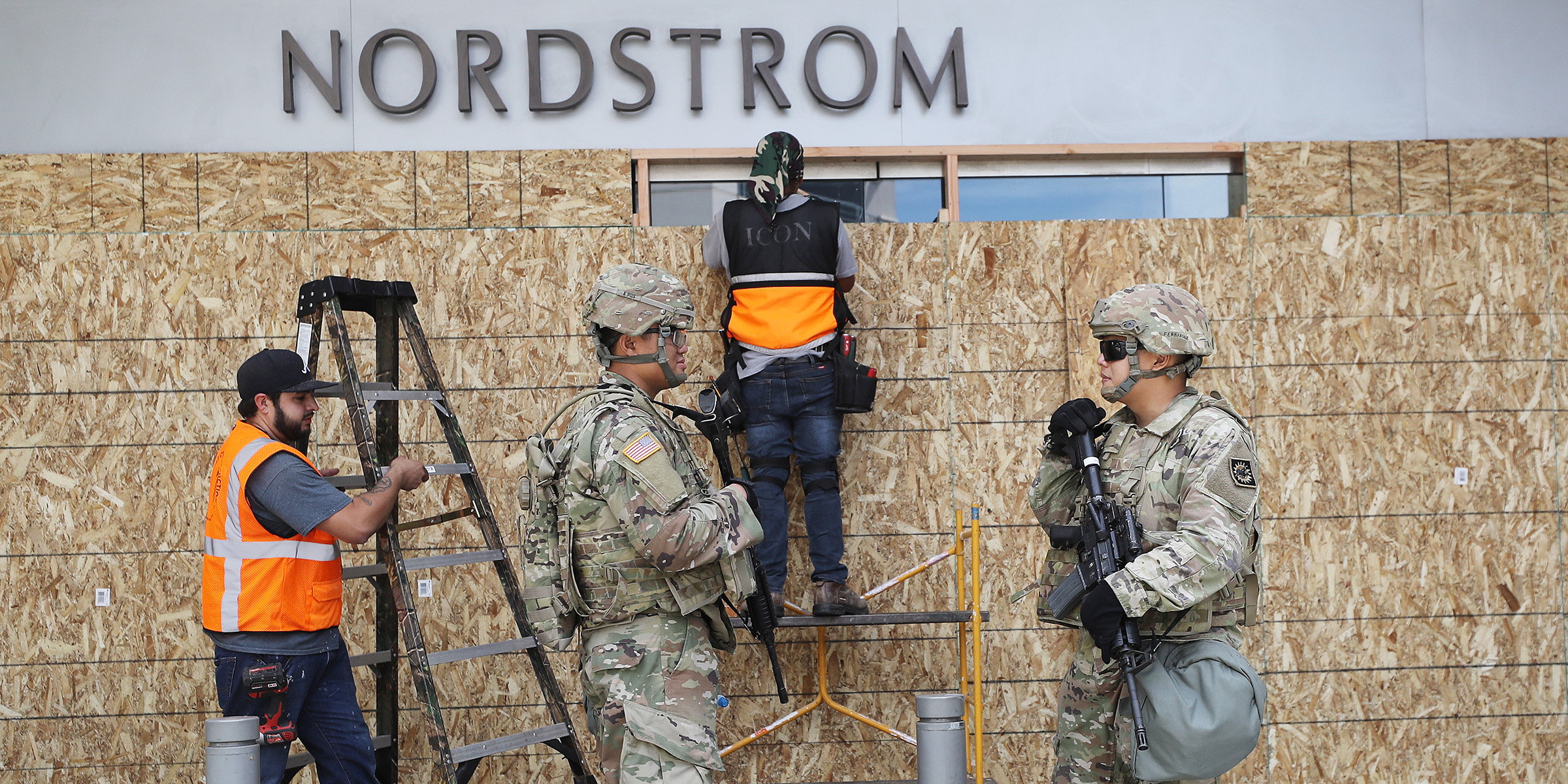 Nordstrom closes stores amid protests: 'Windows and merchandise can be replaced'