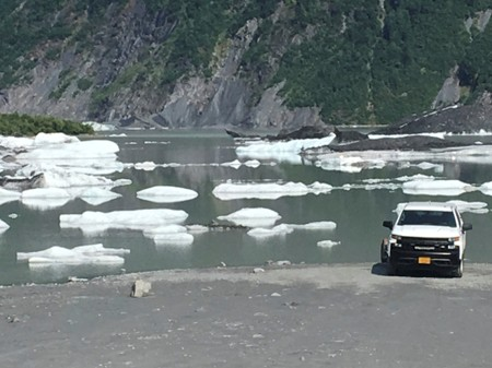 Alaska boaters likely killed by falling glacier ice, officials say
