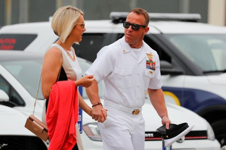 Lawyers make closing arguments in U.S. Navy SEALs war crimes trial