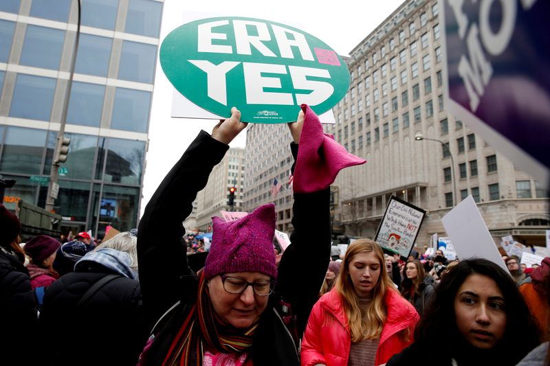 Trump administration casts doubt on womens rights amendment push
