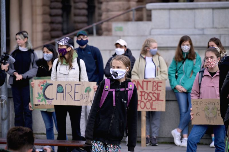 Worlds youth rallies against climate change