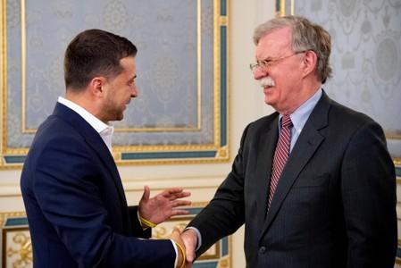 Trump adviser Bolton tells Ukraine: Beware Chinese influence