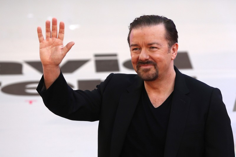 Caustic Gervais returns as Golden Globes host for very last time