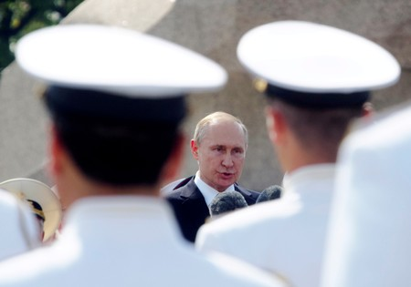 Kremlin says it is winning arms race against U.S. despite rocket accident