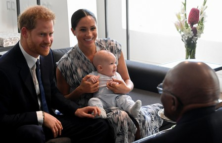 Britains Prince Harry says race against time on climate change