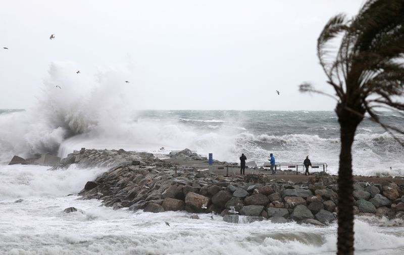 Three die in Spains Storm Gloria