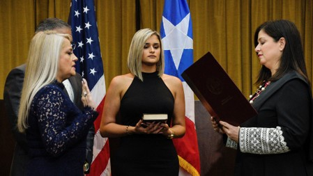 Puerto Ricos new governor says she intends to remain in office