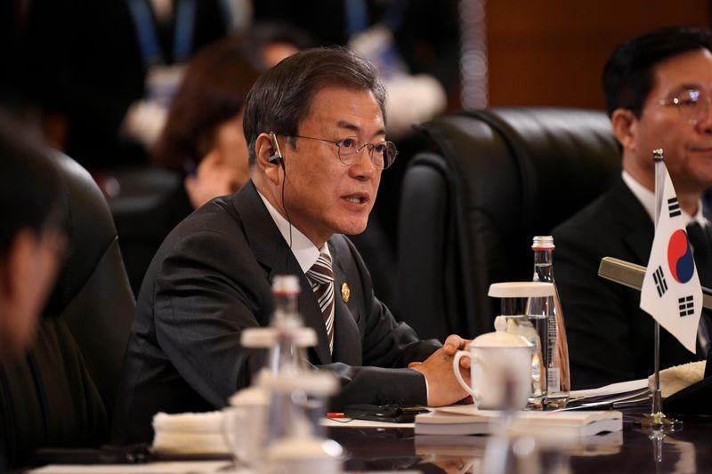 South Korea, Japan, China leaders to promote North Korea-U.S. dialogue