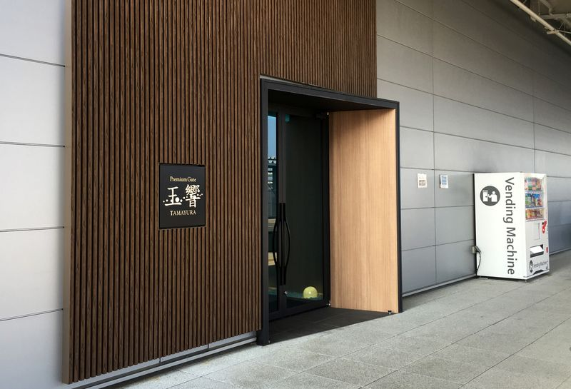 From low-profile private lounge, Ghosns last exit from Japan