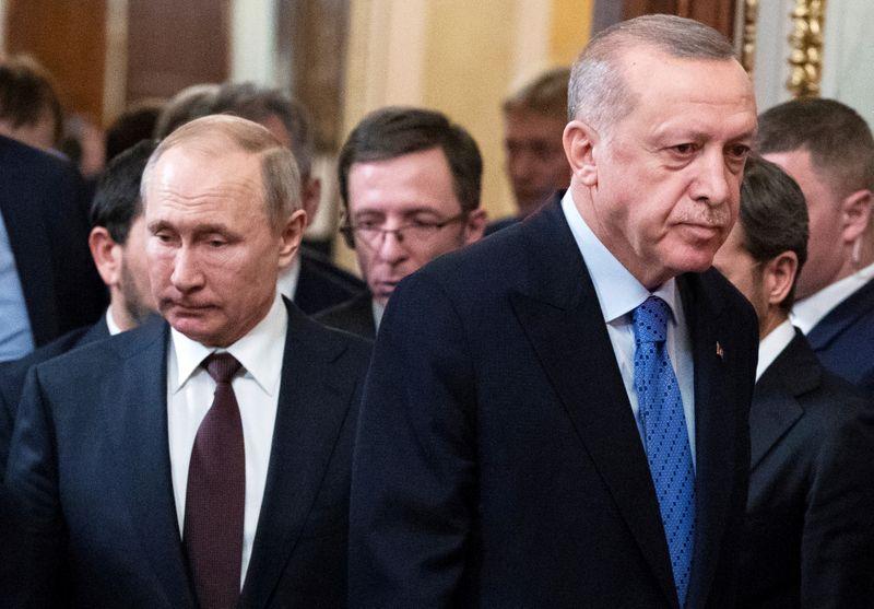 Erdogan tells Putin that Armenia must negotiate over Nagorno-Karabakh