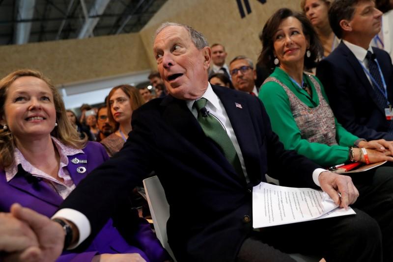 U.S. presidential candidate Bloomberg regrets telling bawdy jokes