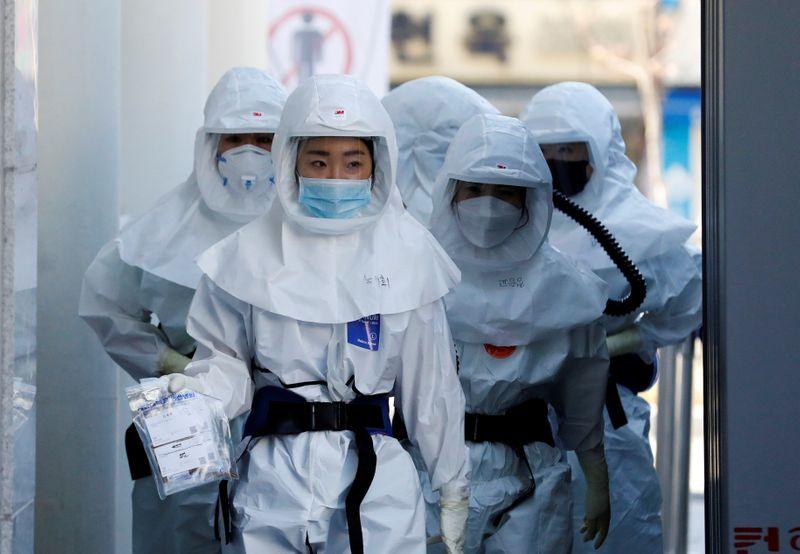 South Korea designates regions hit hardest by coronavirus as disaster zones