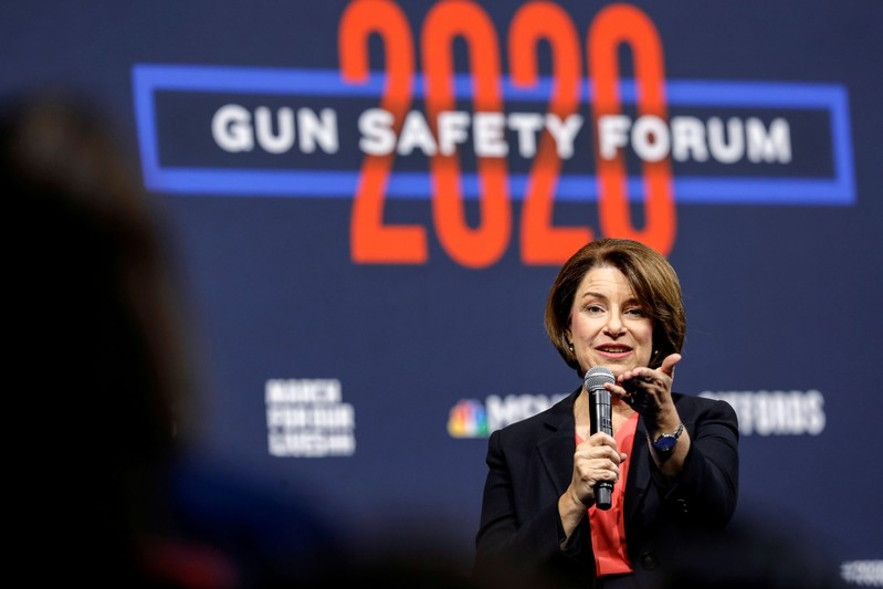 Presidential hopeful Klobuchar wants community college to be free but not four-year college