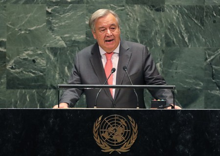 Guterres warns U.N. may not have enough money to pay staff next month