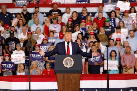 Trump disavows send her back rally chant, many Republicans alarmed