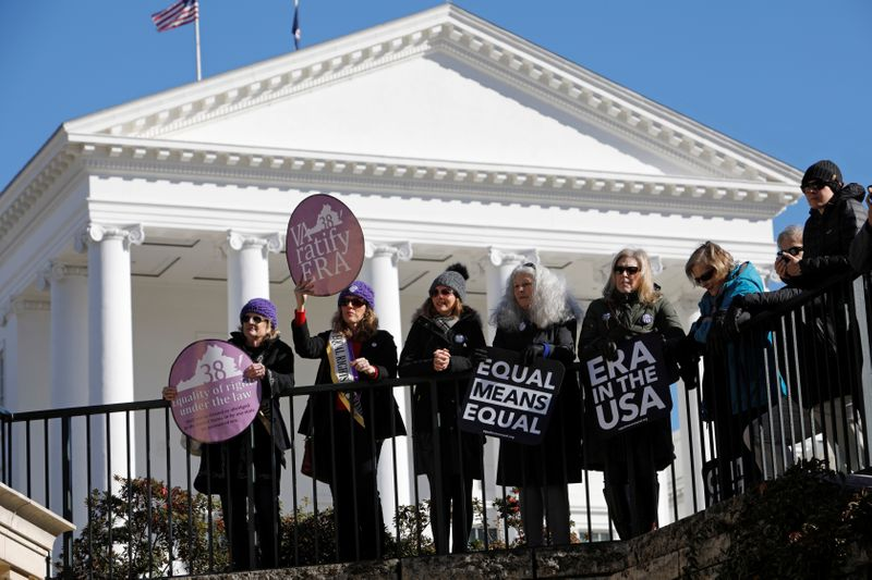 U.S. states sue to demand recognition of Equal Rights Amendment for women