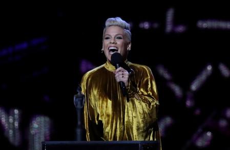 U.S. singer Pinks tour crew crash land at Danish airport