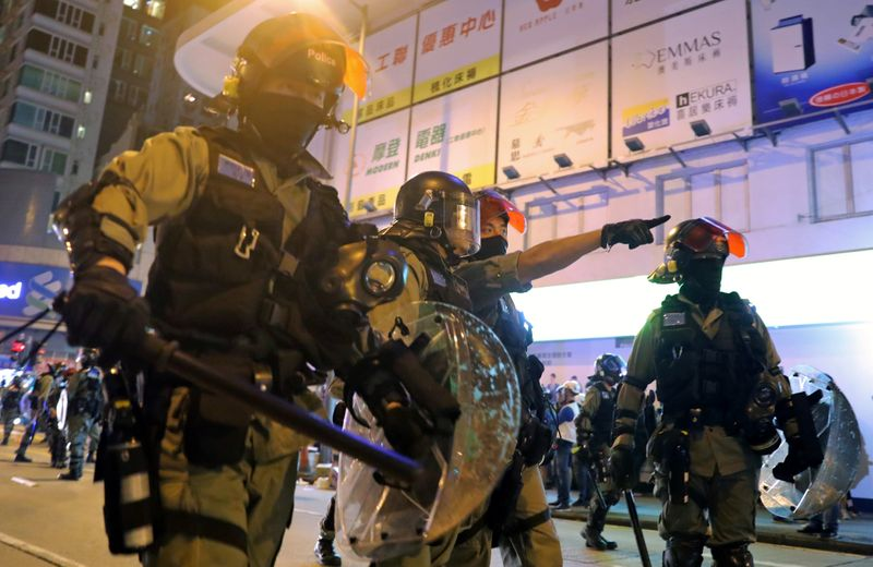 Hong Kong police paid $17 million in allowances related to protests