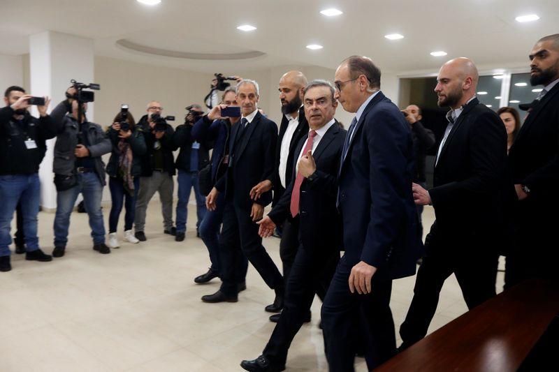 Lebanon imposes travel ban on ex-Nissan boss Ghosn - judicial source