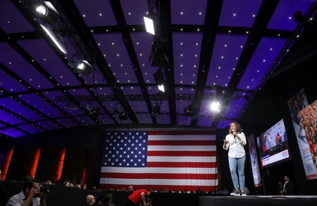 Democratic presidential contenders demand action on guns