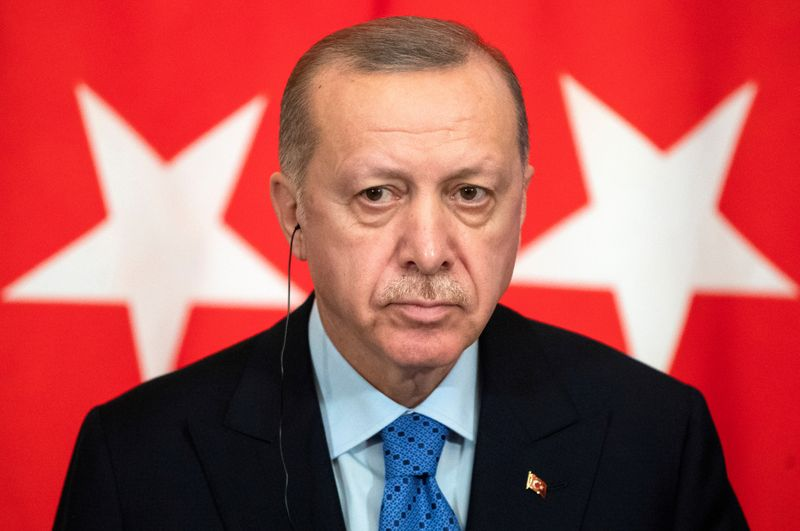 Turkeys Erdogan accuses Syrian government of violating Idlib ceasefire