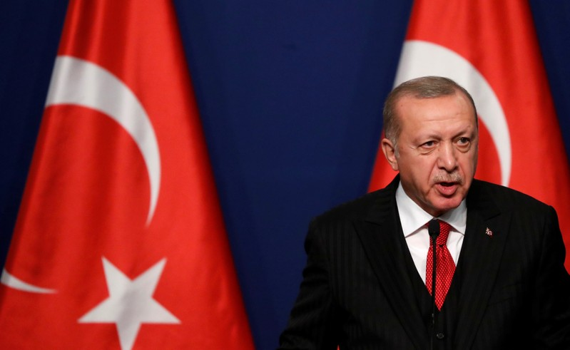 Erdogan says Turkey will let refugees into Europe if EU does not support it