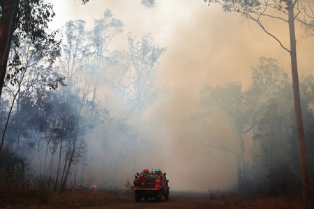 Australian homes destroyed by spring fires in horrible warning