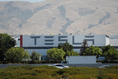 Teslas senior production executive at Fremont facility quits - source