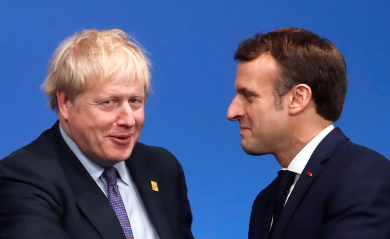UKs Johnson, Frances Macron reiterate commitment to Iran nuclear deal