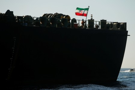 Grace 1 tanker raises Iranian flag, changes name to Adrian Darya-1