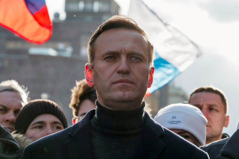 Navalny says Russian authorities poisoned him as threat ahead of parliament elections