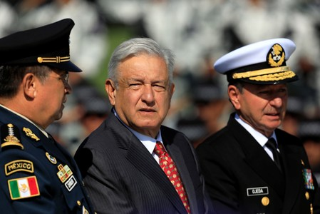 Mexican leader admits shortcomings on security at launch of new police force