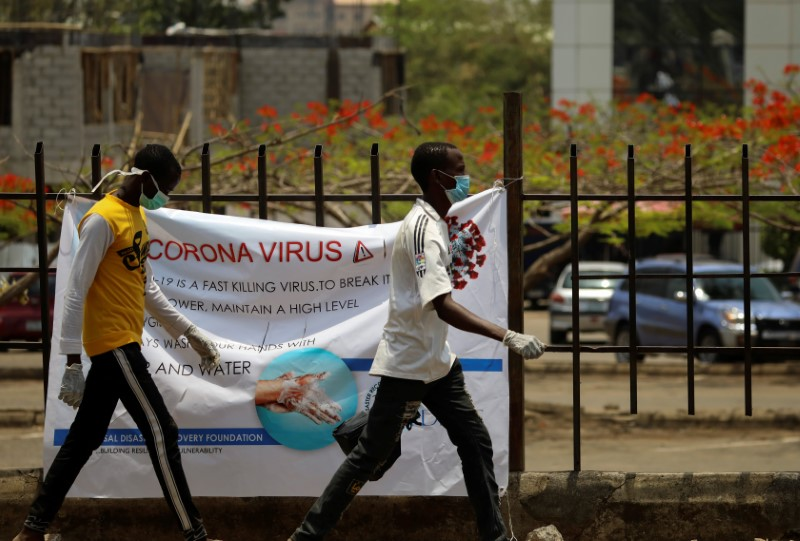 Nigeria needs $330 million for coronavirus battle, turns to private sector