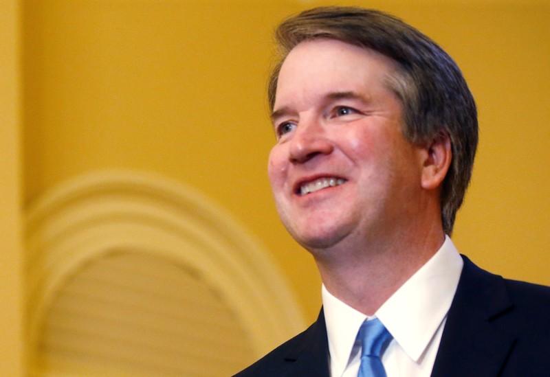 U.S. Justice Kavanaugh upbeat in first major public speech