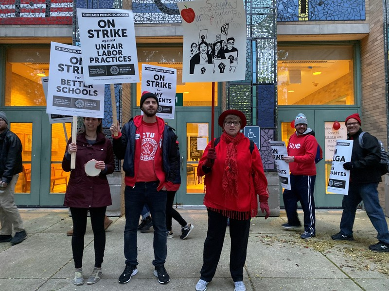 Chicago teachers strike enters seventh school day as talks continue