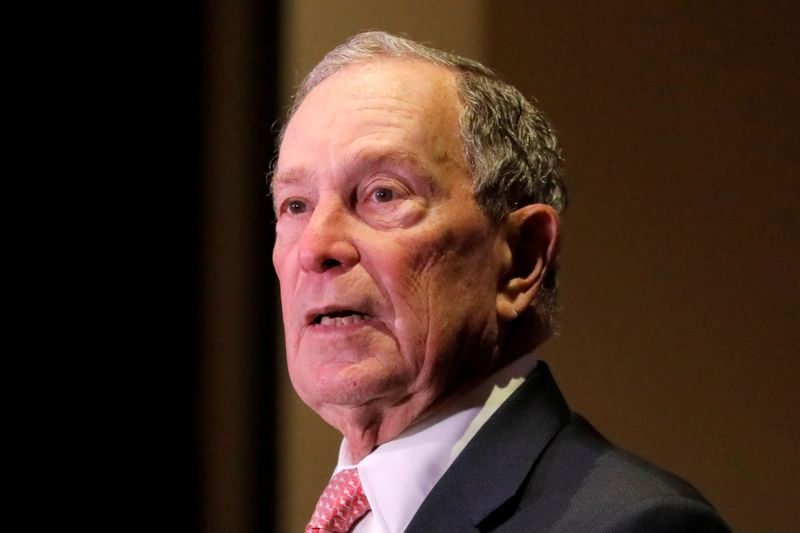 Michael Bloomberg says his White House campaign unknowingly used prison labor