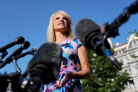 U.S. lawmakers delay action to hold Trump adviser Conway in contempt