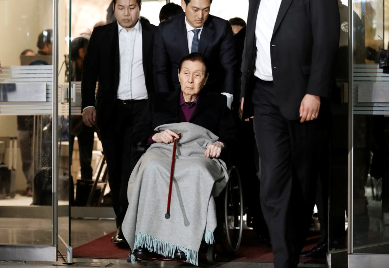 Founder of South Korean retail giant Lotte dies